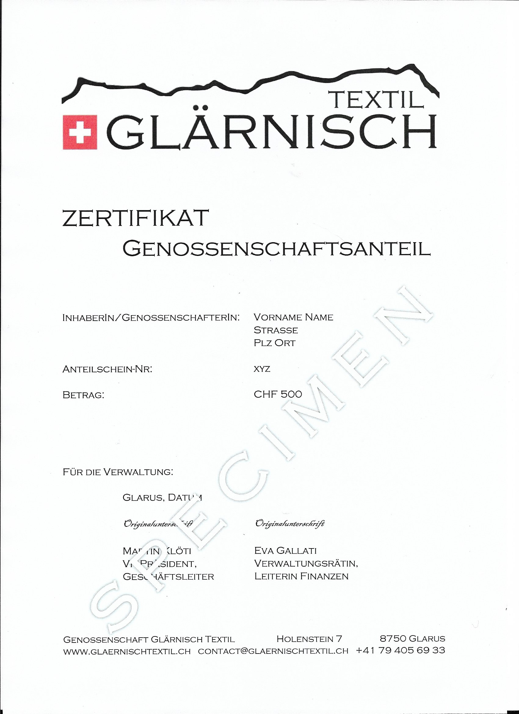 handelsregister glarus